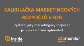 Kalkulačka marketingových rozpočtů v B2B