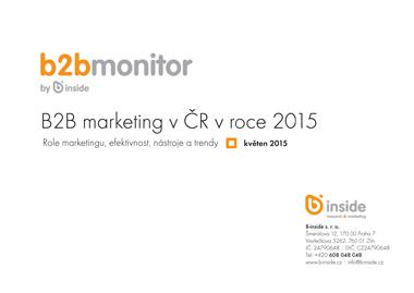B2B monitor IX